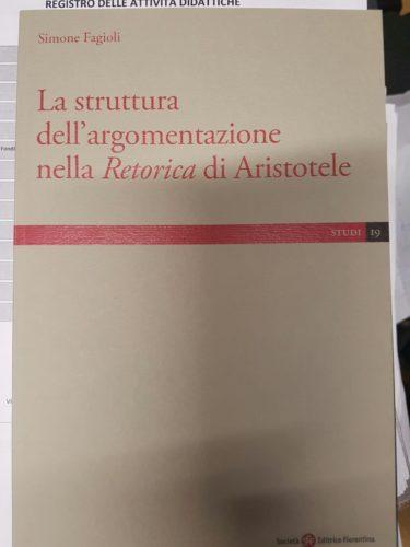 La retorica aristotelica vista dal prof Simone Fagioli